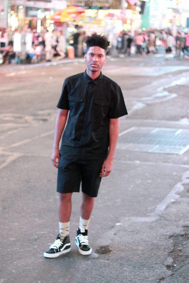 vans sk8-hi outfits men - Google Search
