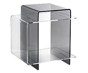 Tavolino Comodino ~ Tavolino comodino in plexiglass s fume cm design