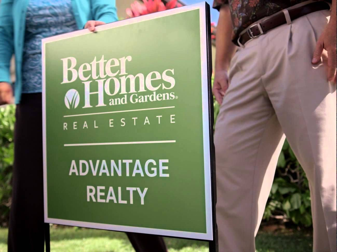 Better Homes and Gardens Real Estate Advantage Realty Announcement Commercial