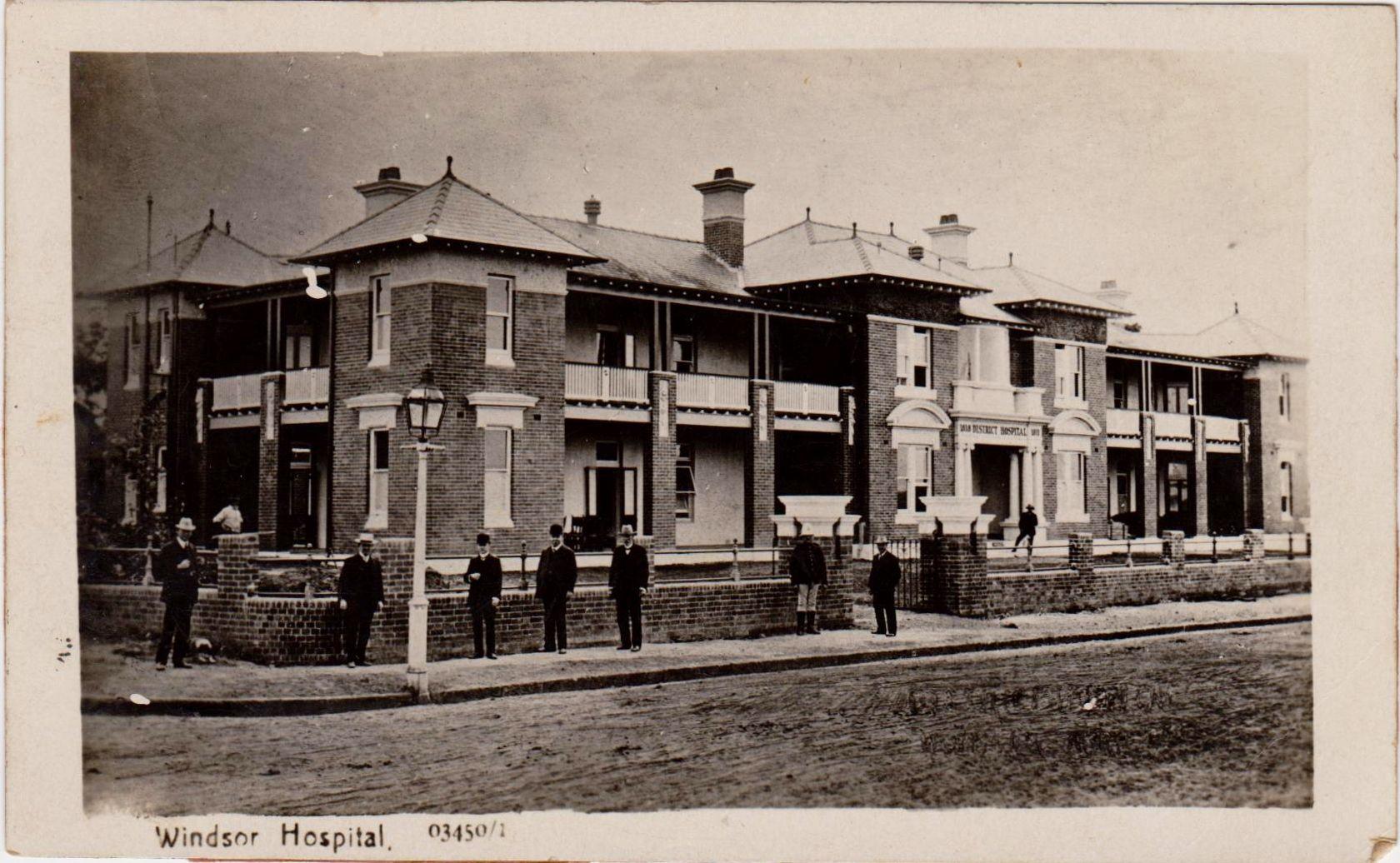 Windsor Hospital, NSW Australian road trip, Australia