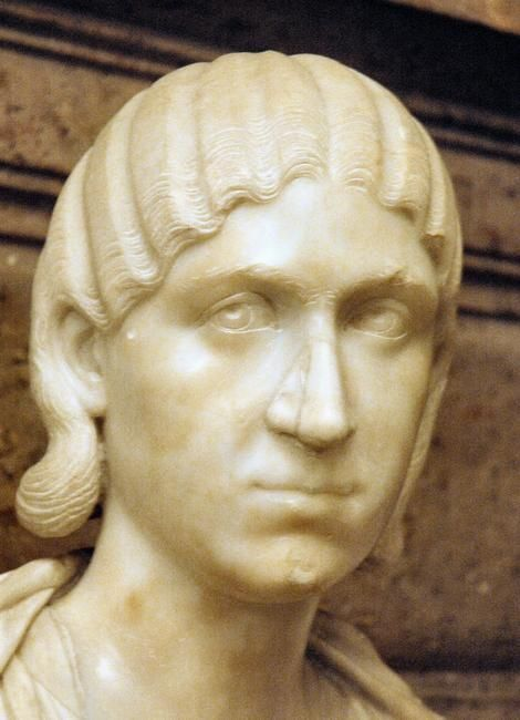 Julia Soaemias, the mother of Elagabalus. She was killed along with her son.