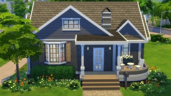 Houses and Lots: Cutiepie Starter No  2 from Totally Sims