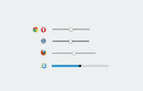 How To Style HTML5 Range Slider Across Multiple Browsers | Code