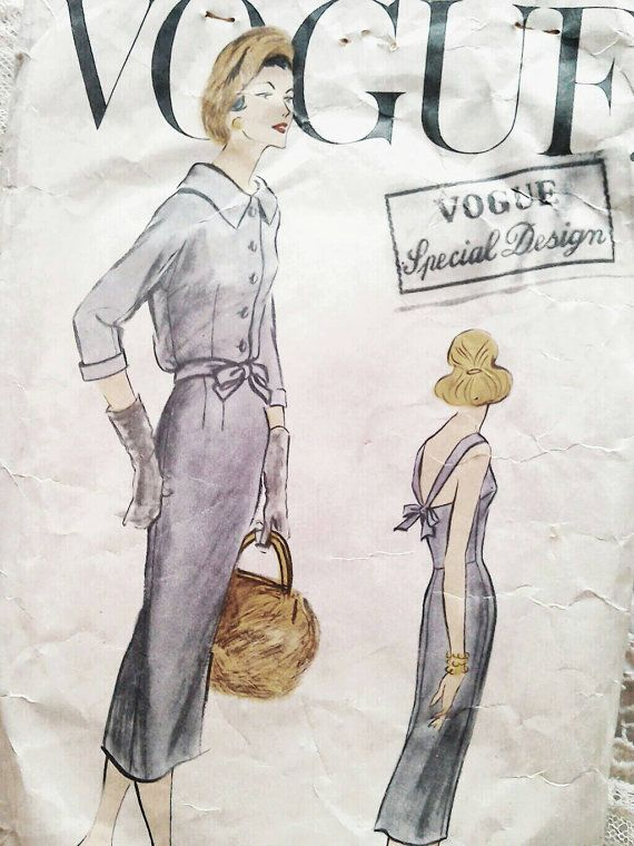 Vogue sewing pattern 50s special design 4835 Bust 34 by Tigrisa