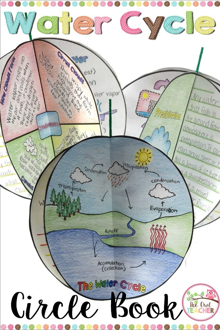 Engage Your Students While Teaching Them About The Water Cycle During Weather Unit With This