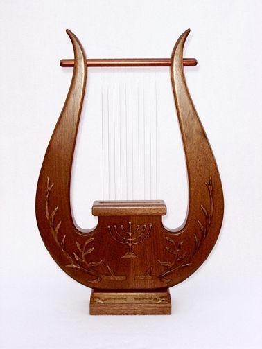 Harp Of David Beautiful Ahşap Işçiliği Eskiz