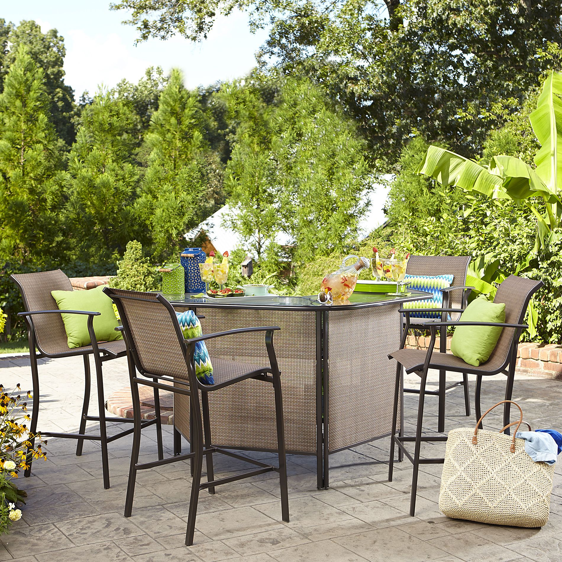 Bar Set Outdoor Patio Furniture Best Color Furniture for You