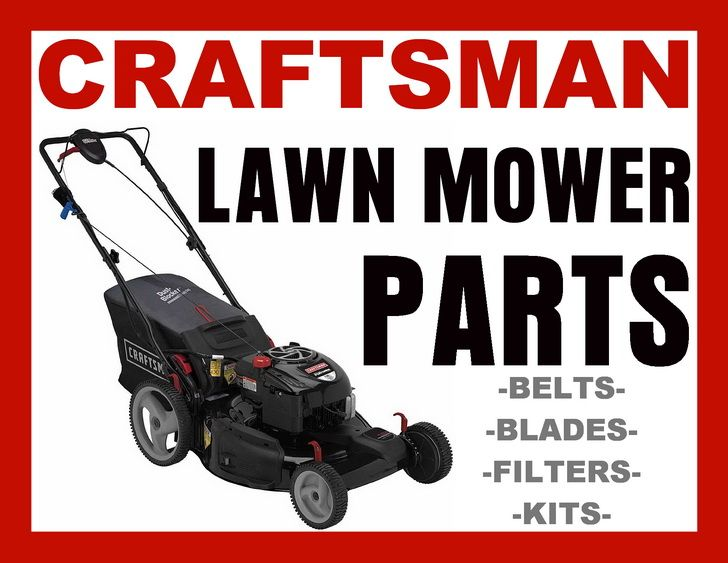 Lawn Mower Parts For Craftsman Lawnmowers Fix Your Lawnmower DIY