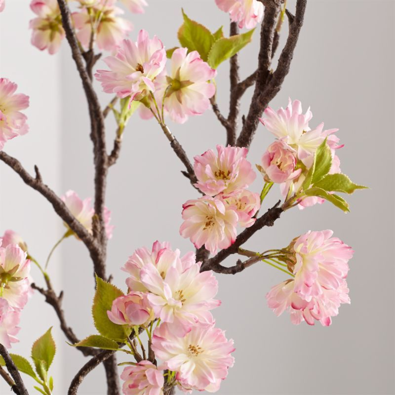 Shop Artificial Pink Cherry Blossom Spray A Realistic Branch Holds Bursts Of Blossoms Their Delicate Petal Cherry Blossom Wedding Cherry Blossom Spring Decor