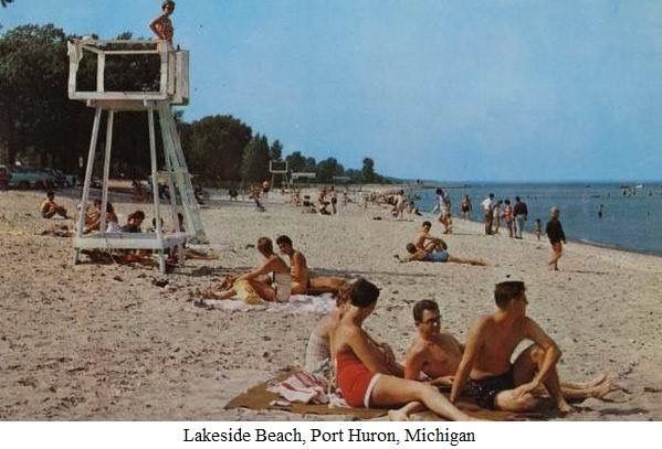 Port Huron Beach Michigan Birth Births