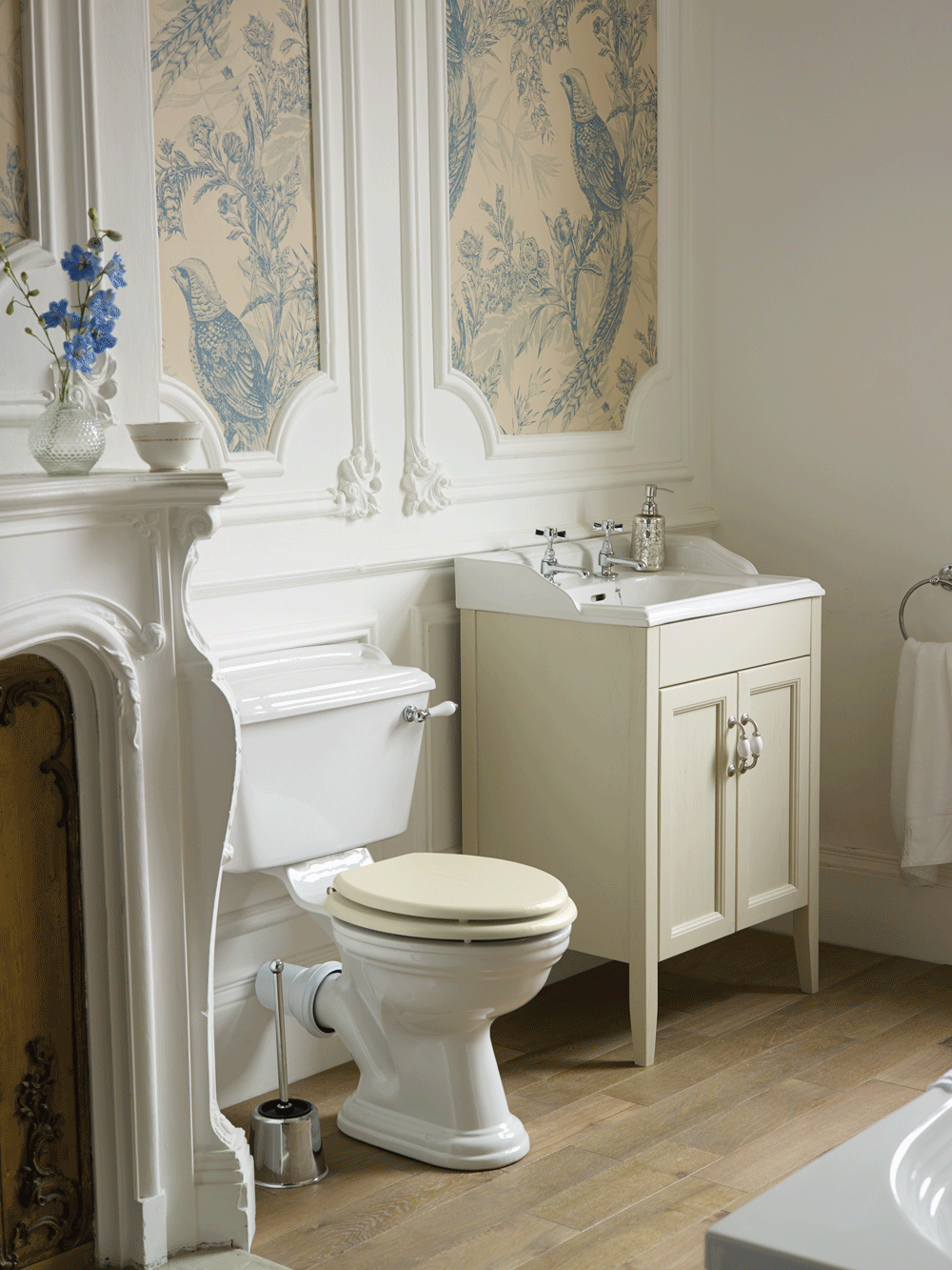 Heritage Bathroom Furniture Dorchester Vanity In Oyster From Tubs Tiles