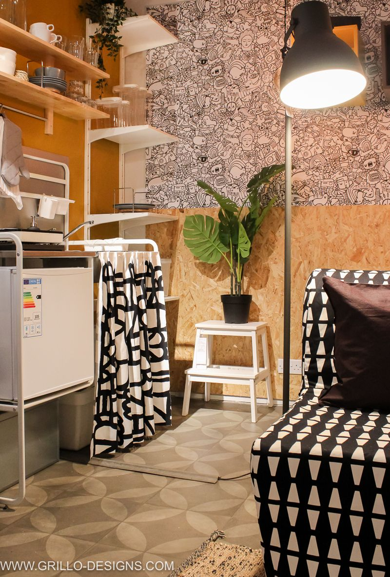 Ikea Small Living Room Design Ideas: AN IKEA ROOM SET MAKEOVER: SMALL SPACE LIVING IDEAS