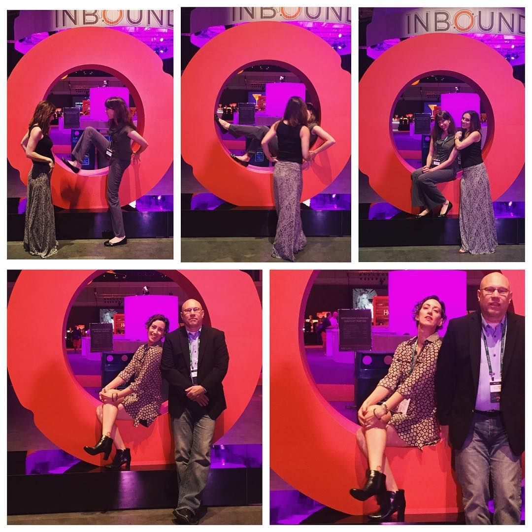 Real talk: our leadership had a BLAST at INBOUND15 this year.