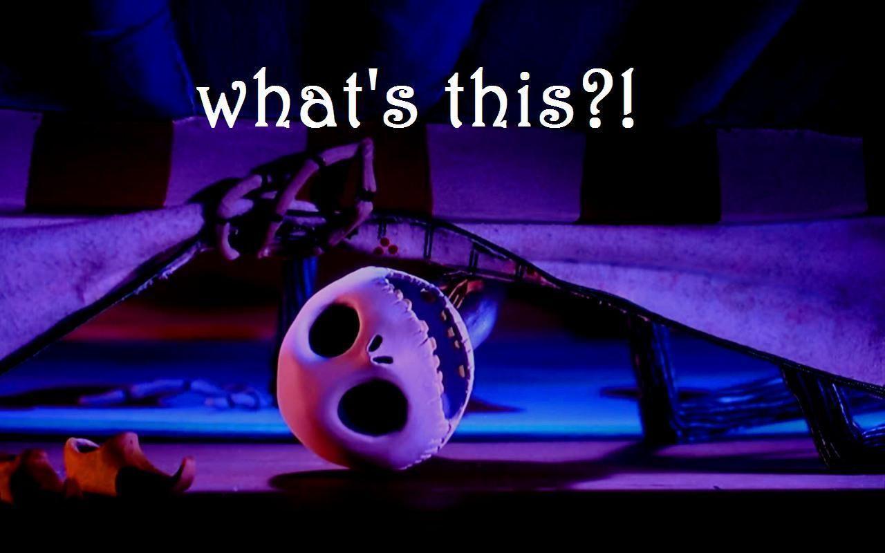 nightmare before christmas | Jack - Nightmare Before Christmas ...