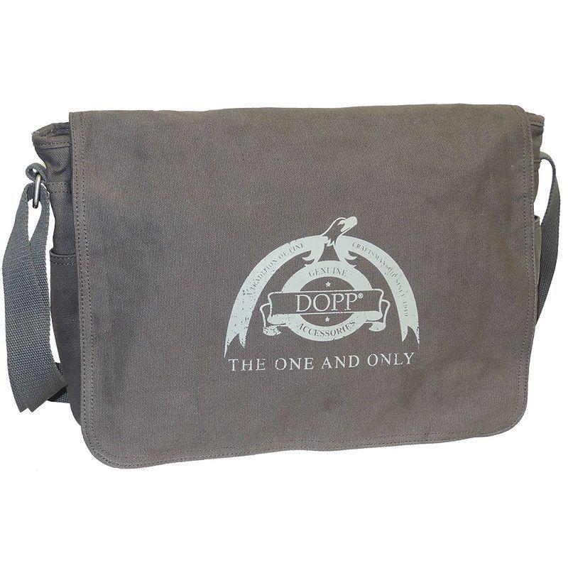 Dopp Legacy 15-inch Laptop Messenger Bag, Grey