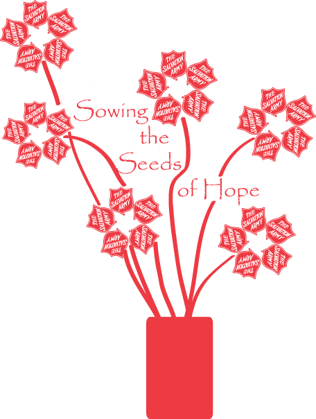 Sowing The Seeds Of Hope Salvation Army Salvation Army Christmas