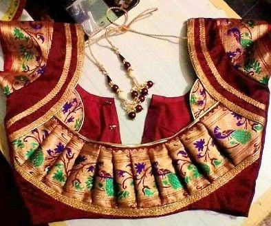 20+ Latest Paithani Blouse Designs Trending in 2020