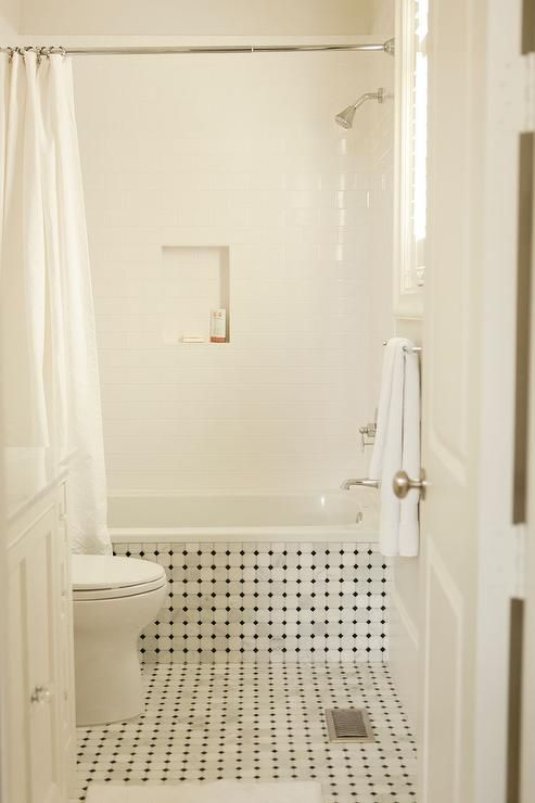 Drop In Bathroom Sinks Rectangular: Vintage Bathroom Features A Vintage Tiled Drop In Tub And