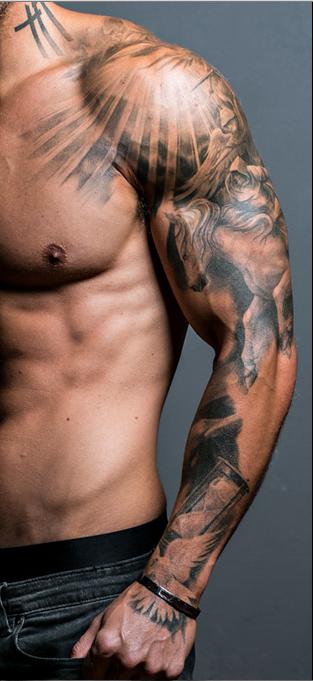 Tattoo Sleeve Erkek Dovmeleri Kol Dovmeleri Dovme Fikirleri
