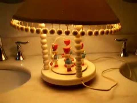 """Vintage Musical Lamp from Originals by """"Irmi"""" - http://art-press.co/vintage-musical-lamp-from-originals-by-irmi/"""