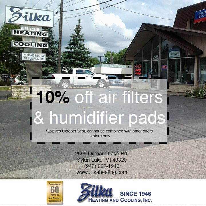 Zilka Heating Cooling In Sylvan Lake Mi Can Handle All Of Your
