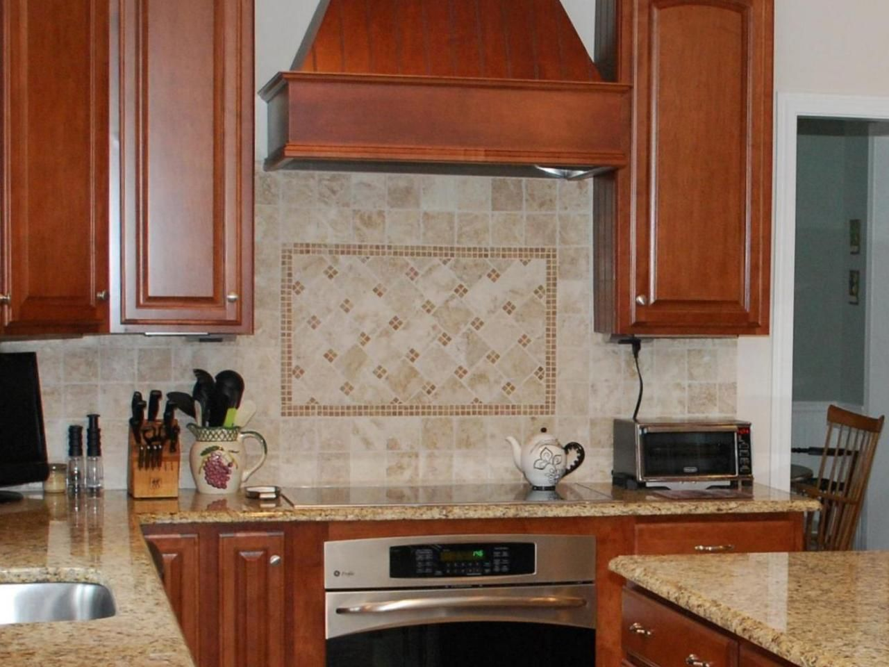 Lovely Glass Tile Backsplashes. Backsplash IdeasTravertine Tile BacksplashStone  Kitchen ...
