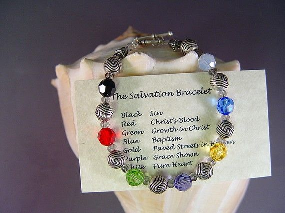 Gospel bracelet colors meaning
