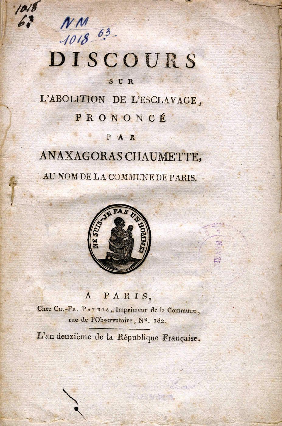 La Fete De L Abolition De L Esclavage A Paris Histoire Et Analyse D Images Et Oeuvres Abolition Esclavage Esclavage Revolution Francaise