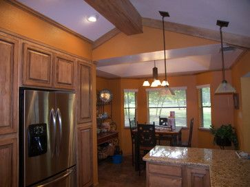 Soffit Above Cabinets With Vaulted Ceiling Special