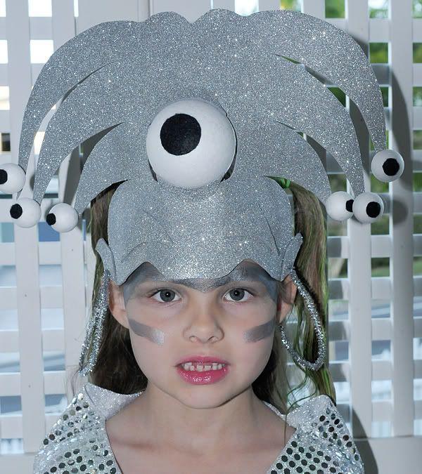 Make Your Own Alien Head Gear | Head Gear | Pinterest | Aliens ...
