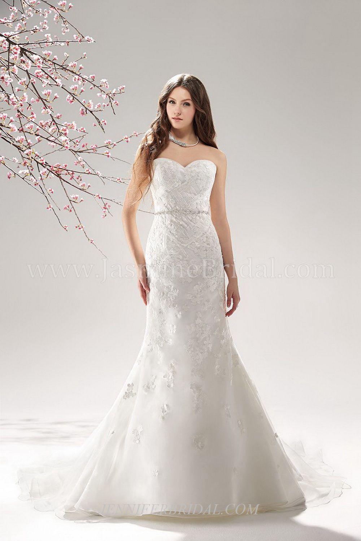 Jasmine bridal gown style f wedding dress pinterest