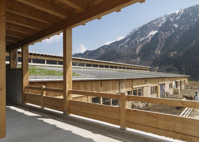 Klosterhof Salaplauna by Swiss architect Gion A Caminada