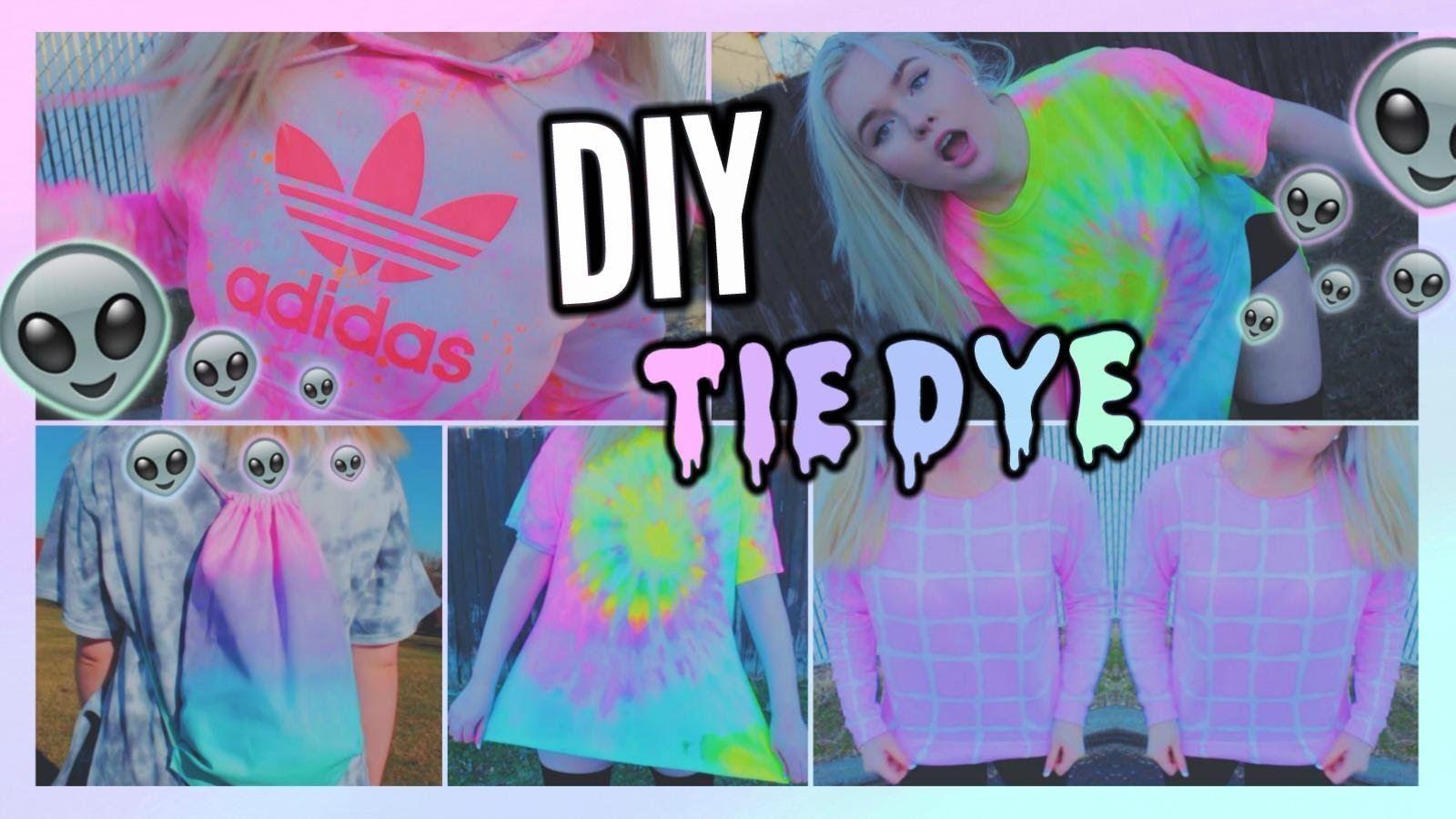 diy tie dye shirts 5 different ways to tie dye t 201 cnica