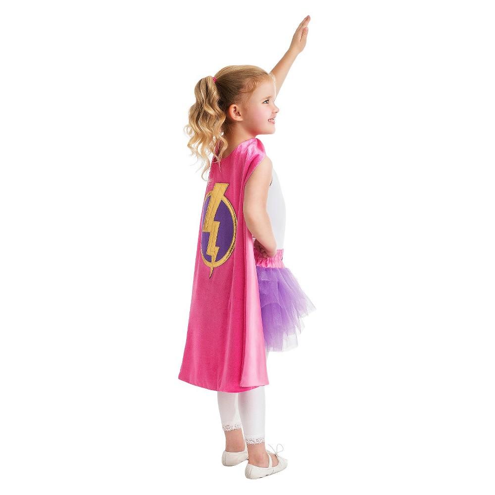 Little Adventures Girl Hero Cape and Lightning Bolt Tutu