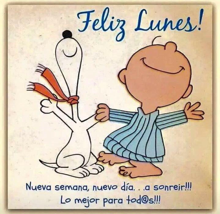Feliz Lunes Snoopy Frases Sabias Mensagens Y Frases