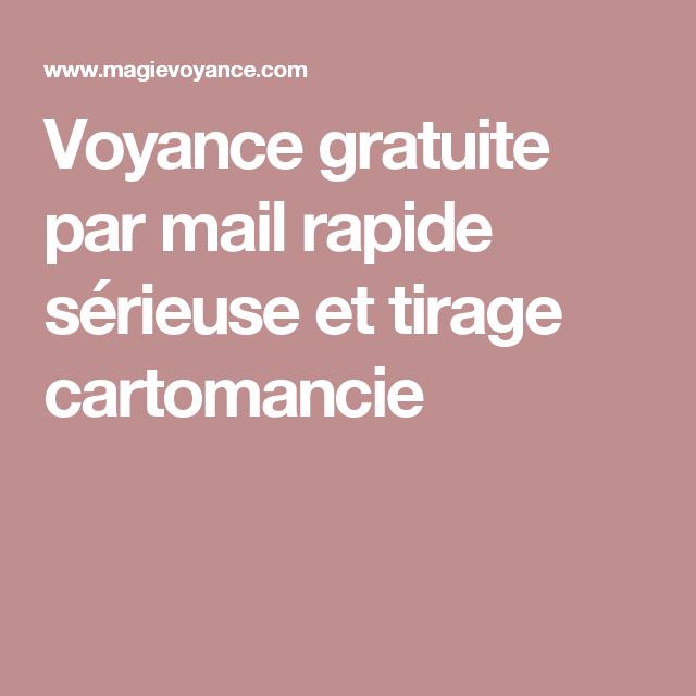 a21b2e6e3f560b Voyance gratuite par mail rapide sérieuse et tirage cartomancie   Magie et  voyance