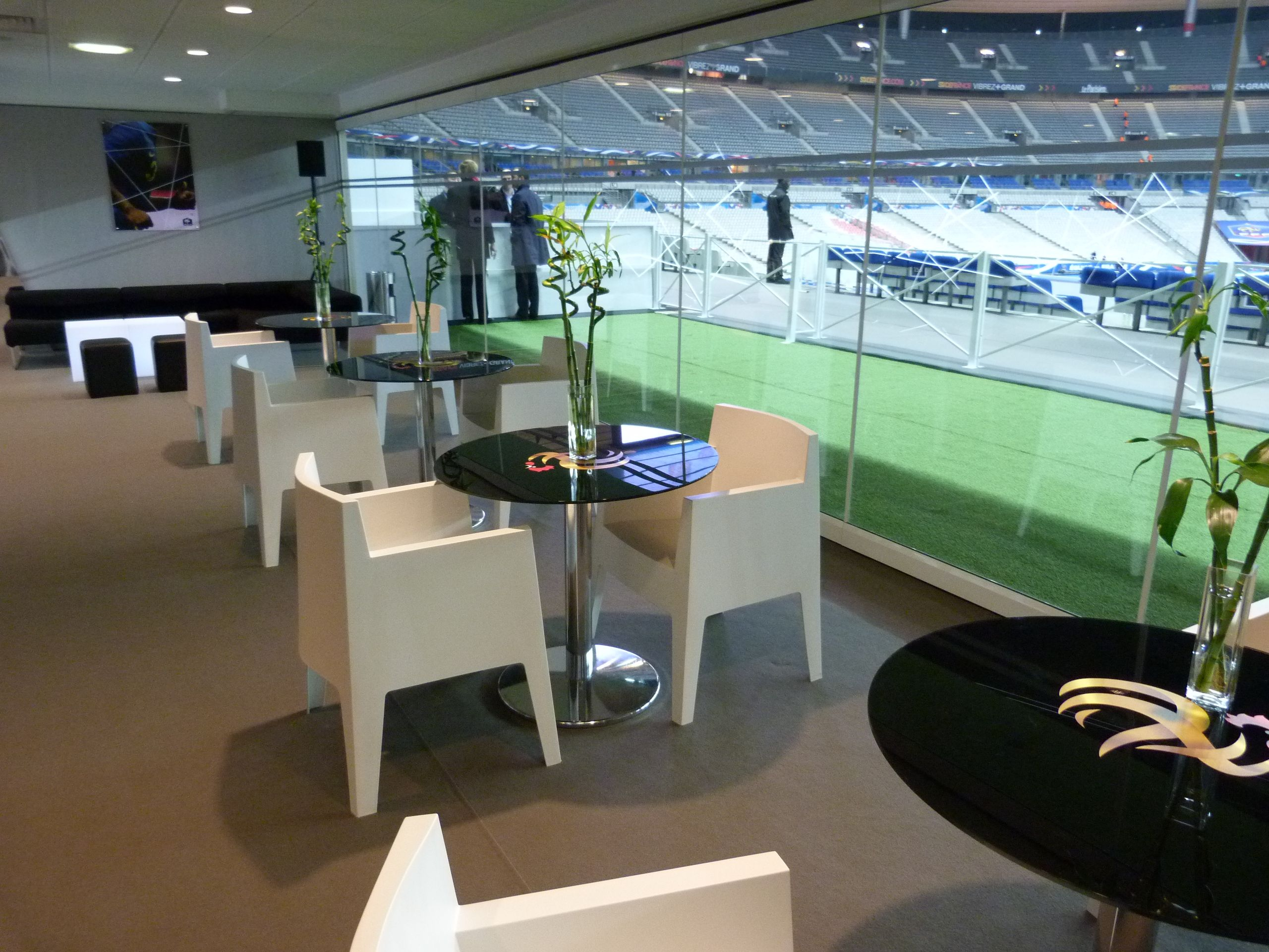 Salon Club FFF - Match EDFA saisons 2012/2013 et 2013/2014 - Stade de France