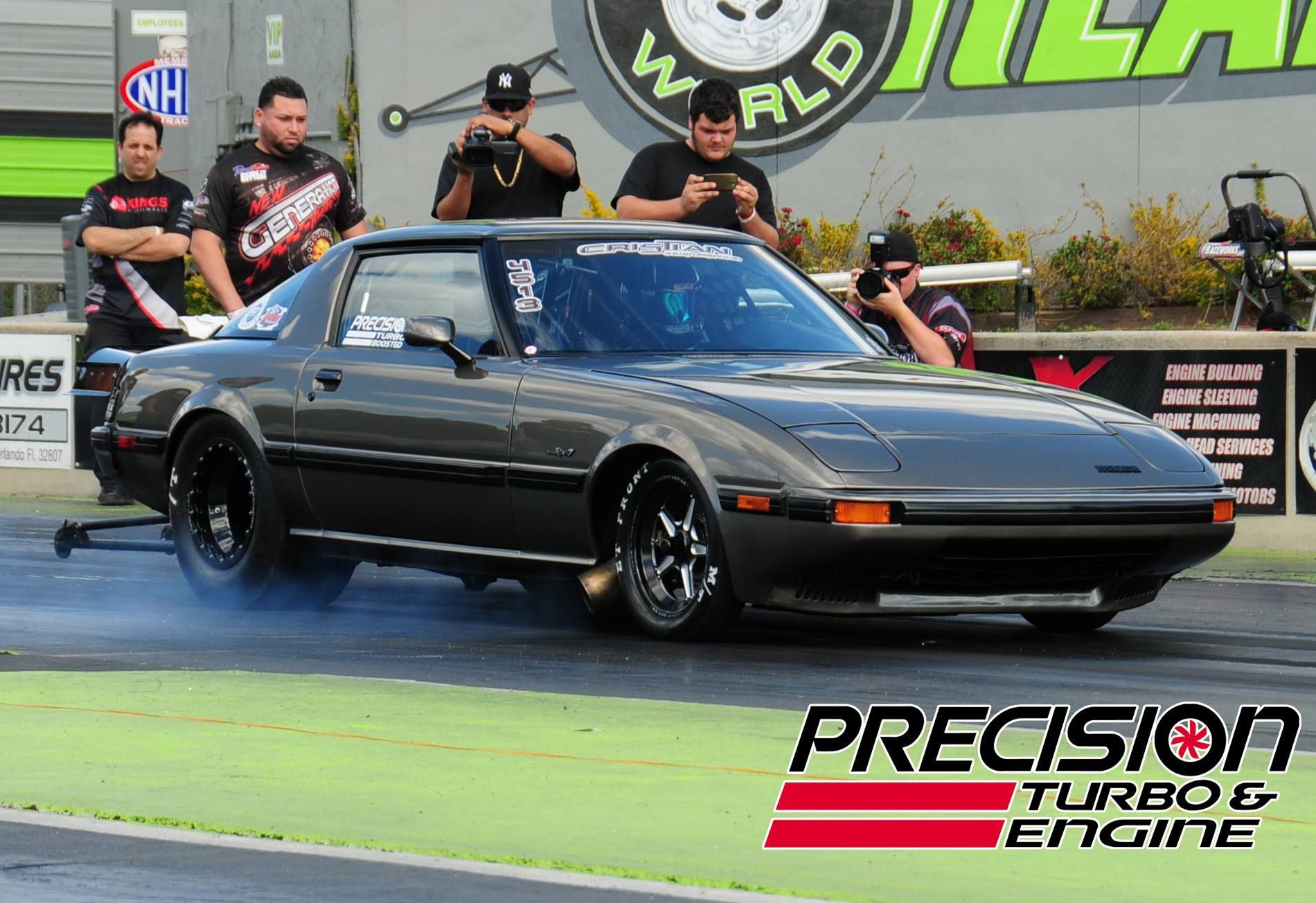 This Pteboosted Mazda Rx7 Is Currently The World S