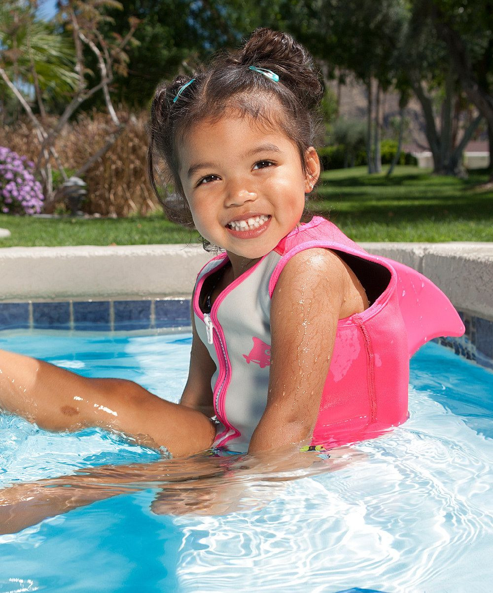 Pink Dolphin Sea Squirts Swim Vest Zulily Pink Dolphin Swimming Little Swimmers