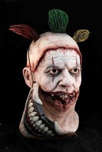 Official AMERICAN HORROR STORY TWISTY THE CLOWN Latex Mask Evil Film Halloween