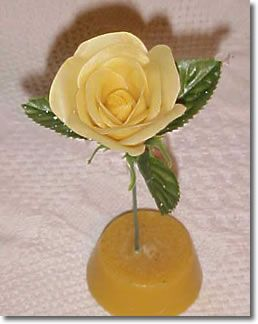 Wax Art - Rose : Candle & Soap Making Techniques | Good to