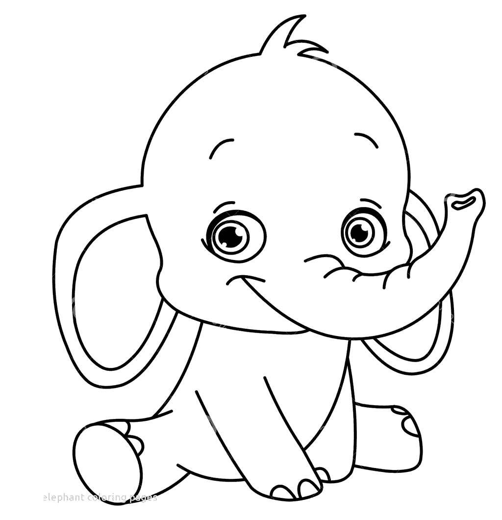 27 Pretty Photo Of Baby Elephant Coloring Pages In 2020 Easy