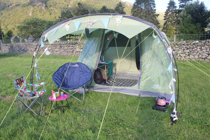 The Vango Solaris is an inflatable AirBeam tent ideal for a small family. We tested & The Vango Solaris is an inflatable AirBeam tent ideal for a small ...
