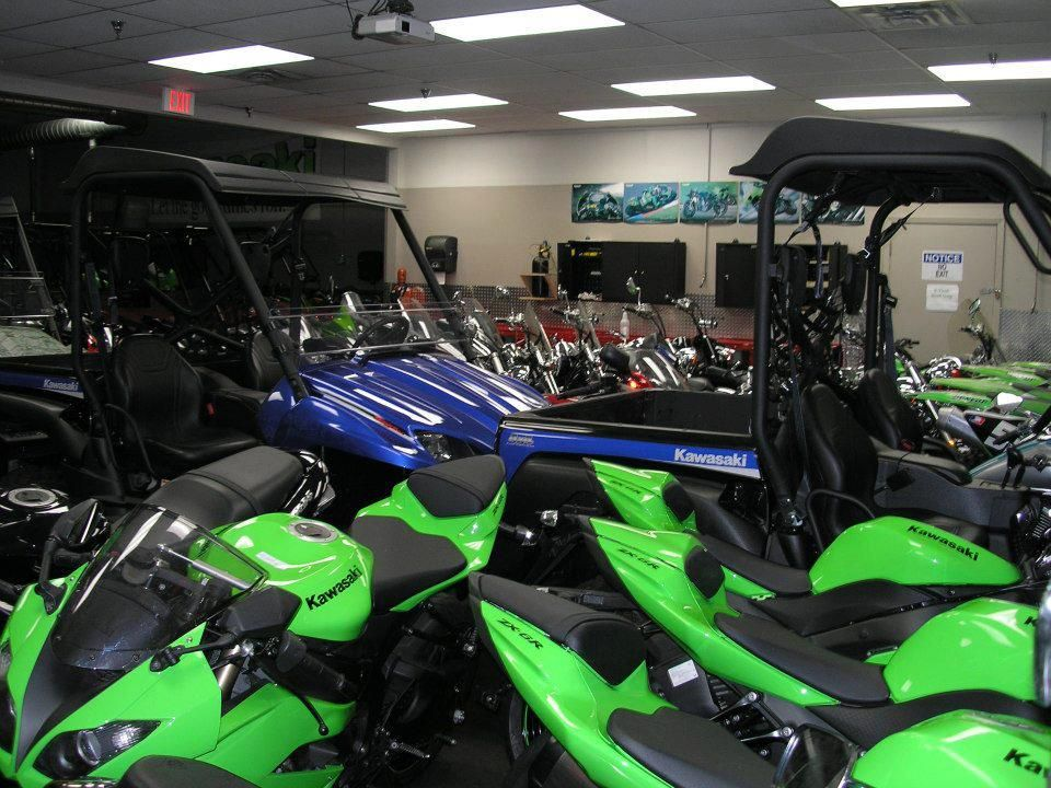 Kawasaki Lab at Motorcycle Mechanics Institute in Orlando