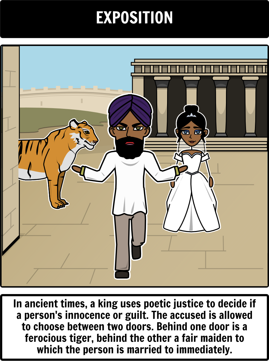 the lady or the tiger by frank stockton - plot diagram: our plot diagram  for the lady or the tiger is easy to create using storyboard that!