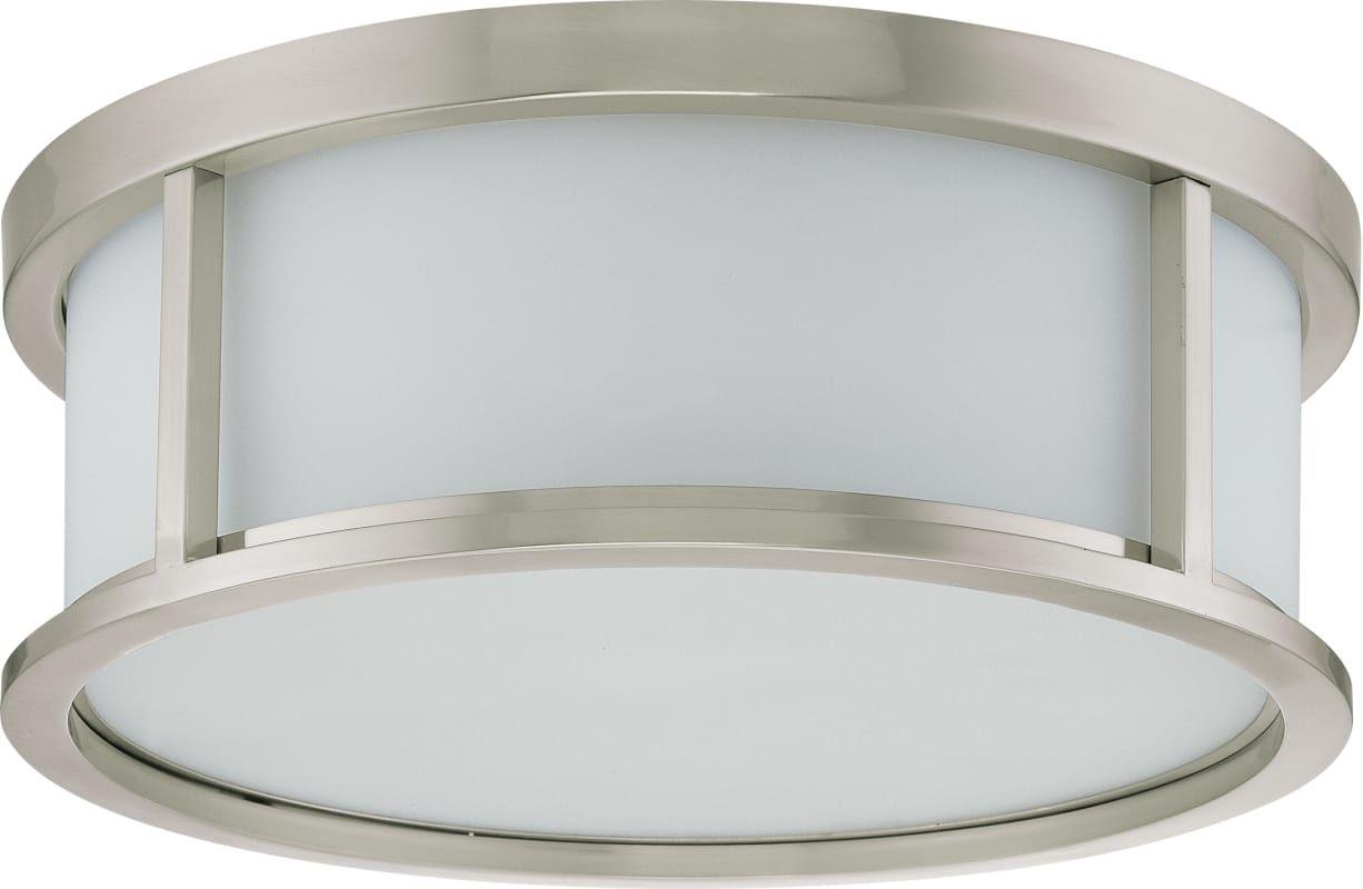 Nuvo lighting 602862 odeon 3 light flush mount indoor ceiling nuvo lighting 602862 odeon 3 light flush mount indoor ceiling fixture 15 inch arubaitofo Choice Image