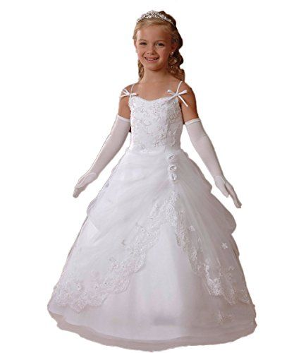 4f3acdb23 CoCoGirls Straps First Communion Dresses for Girls Wedding Flower ...