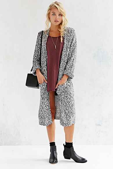 Cheap Monday Vain Maxi Cardigan - Urban Outfitters | chalecos ...