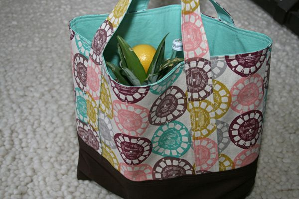 market bag, who doesn't love a new bag pattern