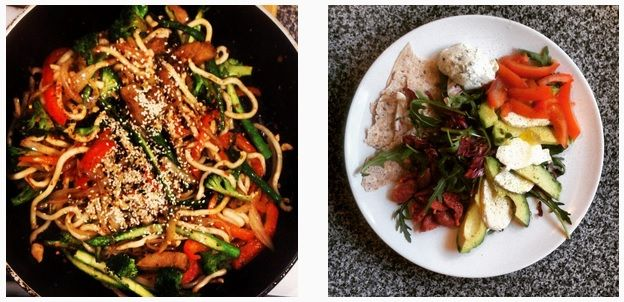#TastyTuesday - ingredients for lunch and dinner today are over on http://www.instagram.com/nononsensenita